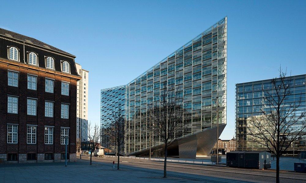 Krystallen | Nykredits nye bygning 6.850 m2 | 2008-2011 Arkitekt: Schmidt, Hammer & Lassen A/S