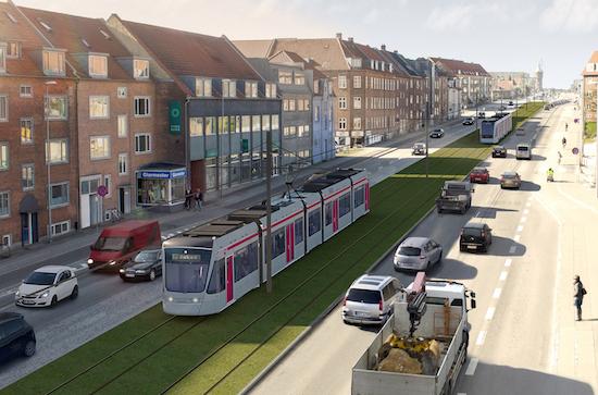 Aarhus Letbane 50 stationer | 2012-2017 | 3,5 mia. kr. Bygherre: Aarhus Kommune og Region Midtjylland