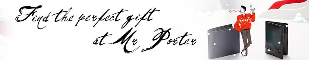 MR PORTER - WEBSITE SKIN MOCKUP FOR RFP