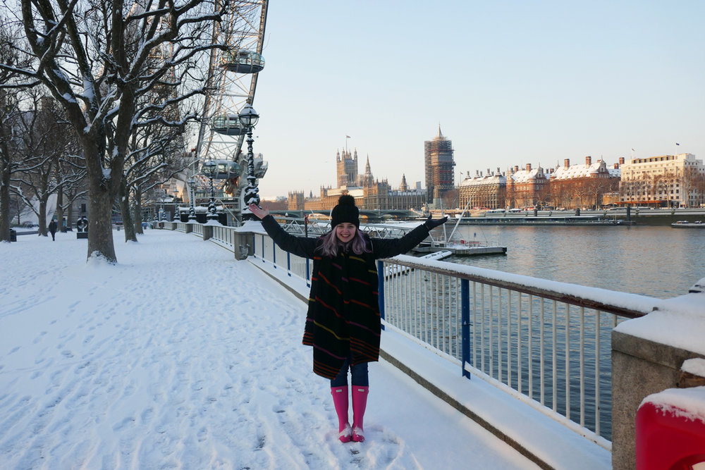 Hooray Hayley in Snow