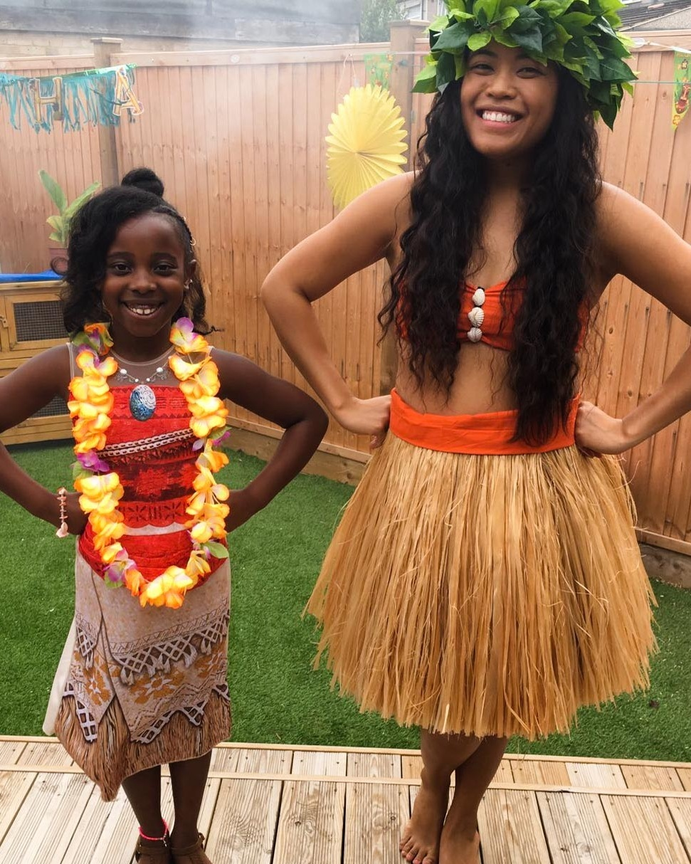 CHILDREN'S PARTIES - If your party is Moana or Tropical themed, or you're looking for something cool and fun for the kids, you've come to the right place! The children always have a great time and we have a great time teaching them!'The children loved and enjoyed it. The birthday girl did not want it to end!'- Jill and D