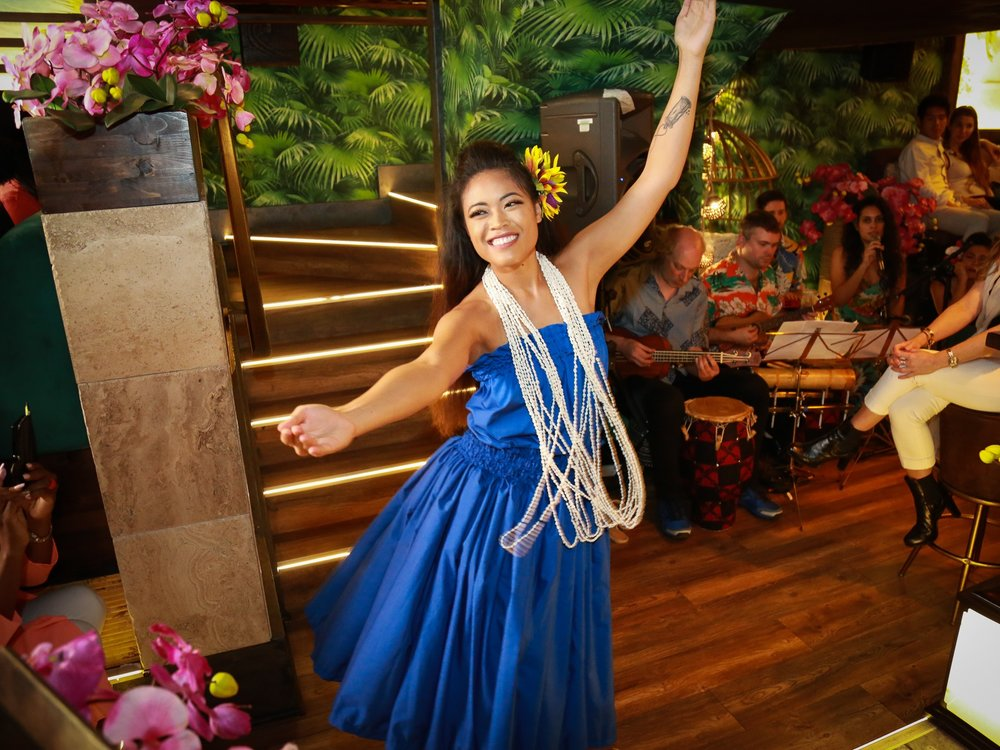 HAWAIIAN HULA - Isolation and discipline. We focus on styles of Hula 'auana including Hapa Haole Hula. Hula 'auana is gentle and requires a great deal of control. It builds grace, strength and harmony, and provides a relaxed, but deeply intense workout.