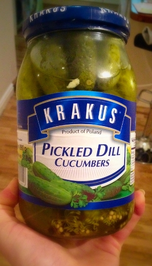 Pickles, my new favourite food