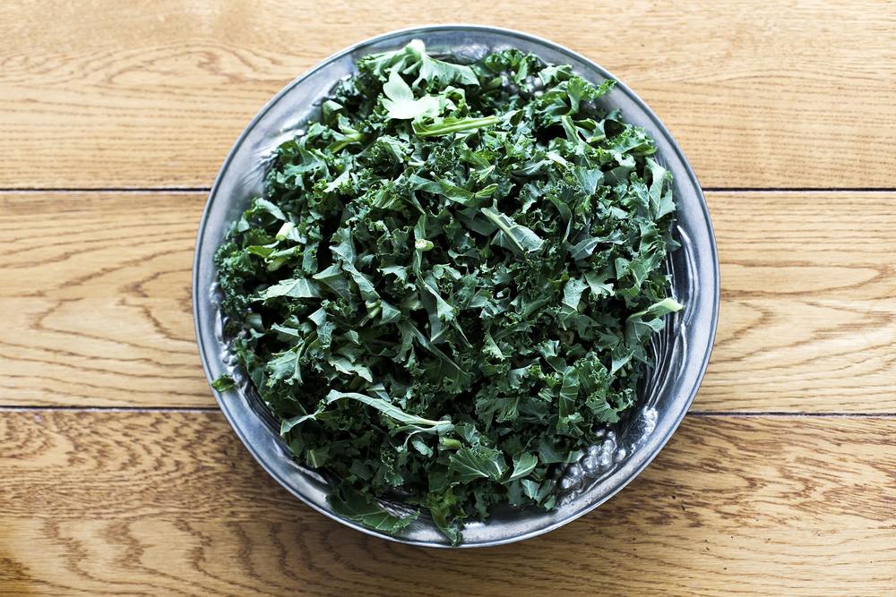 The Little Green Bed of Kale:Kale is packed with Nutrients - high in carotene and very versatile to use in cooking.