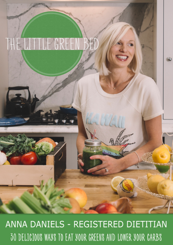 Over the years my clients have asked me to share my recipes.So I decided to put together a collection of my favourite,simple nutrient dense recipes. The recipes are tasty, light in calories, lower in carbs than many traditional recipes, with plenty of high fibre vegetables.My first cookbook titled The Little Green Bed- is now available to buy on Amazonand it is just a sample of some of my favourite recipes.