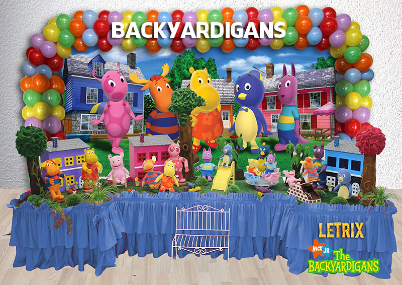 BACKYARDIGANS AZUL