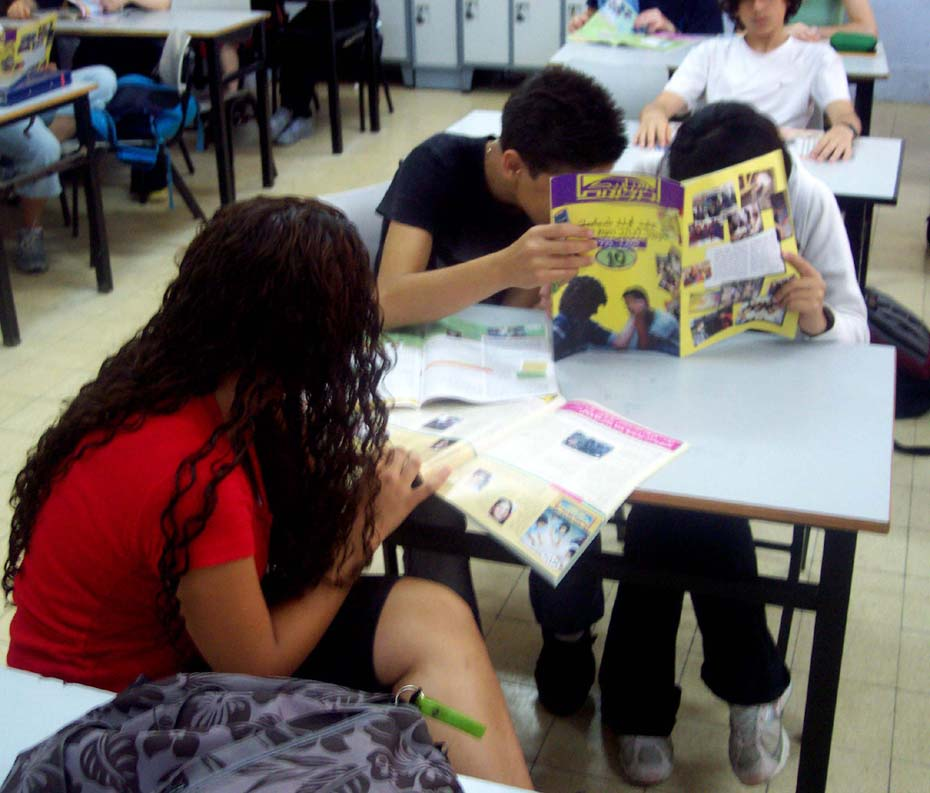 While the main investment has been in the participants of the Youth Media Program - the young journalists - the outcome of their joint efforts, a magazine reflecting the complexities of reality, reached a readership in the tens-of-thousands, many through school workshops (2005).