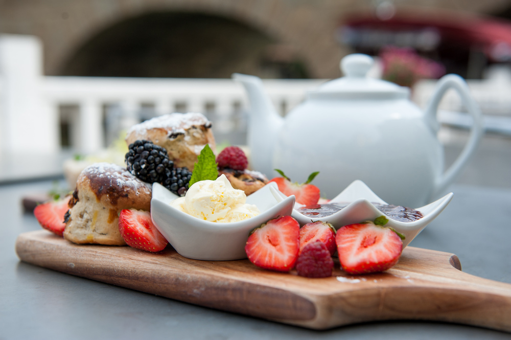 Sumptuous cream tea and afternoon tea at The Folly in Oxford