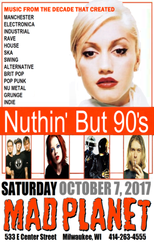 Nuthin But 90's 10-7-17 fb POSTER.png