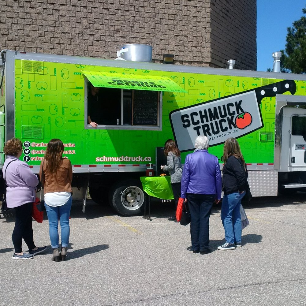 Lamb burger from the Schmuck Truck at SEW Hungry in Hamilton ...
