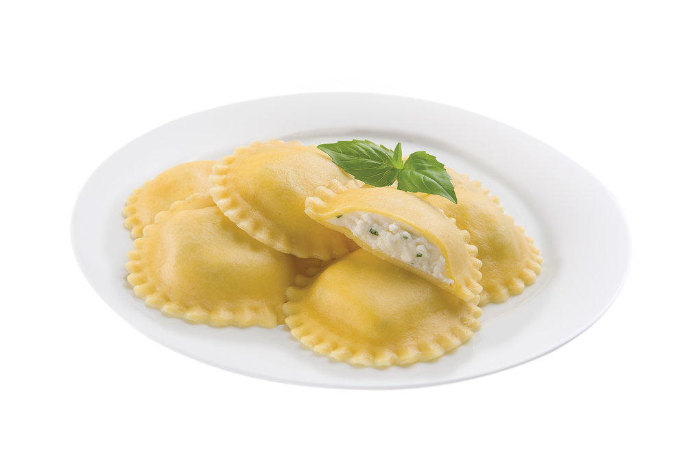 Large Round Cheese Ravioli -