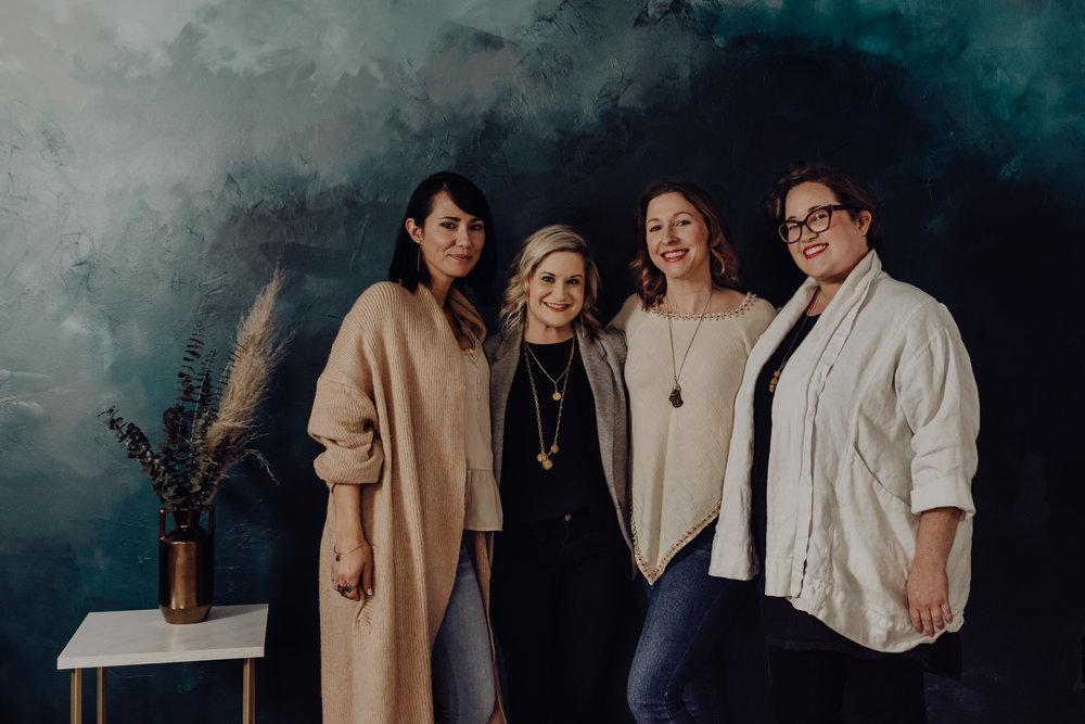 Danielle, Me, Amy, Katie-Laine
