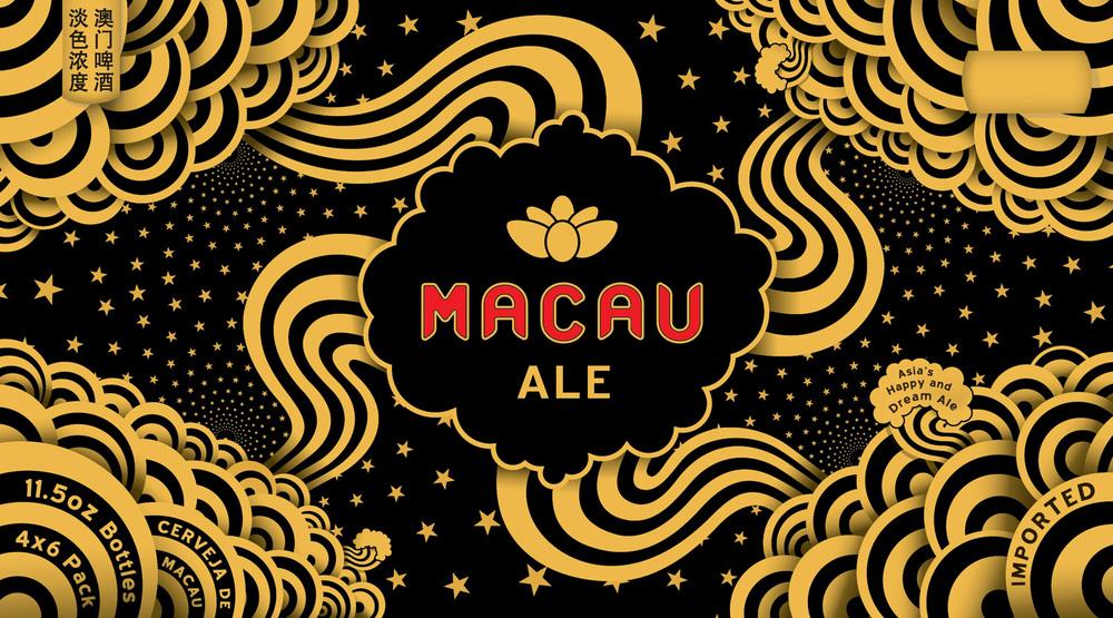 Macau Ale / Kirin(Direct Client) Creative Director. Branding. Packaging.