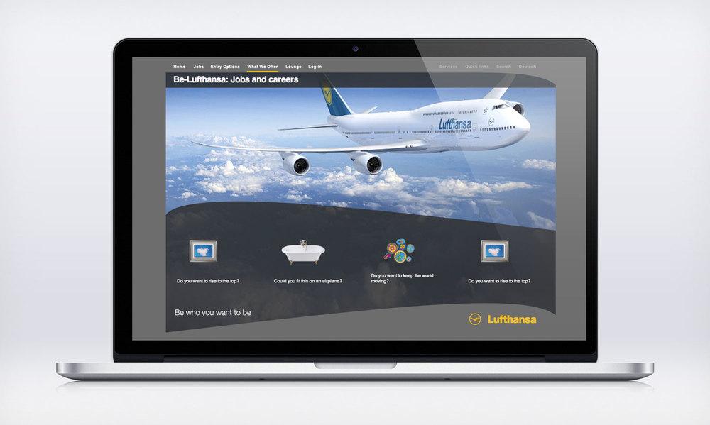 Be-Lufthansa Creative Lead & Agency Partner. Digital.