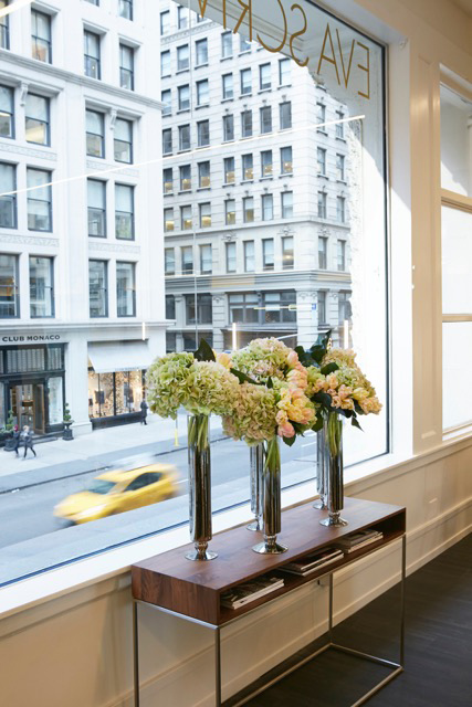 Arrangements at Eva Scrivo Salon