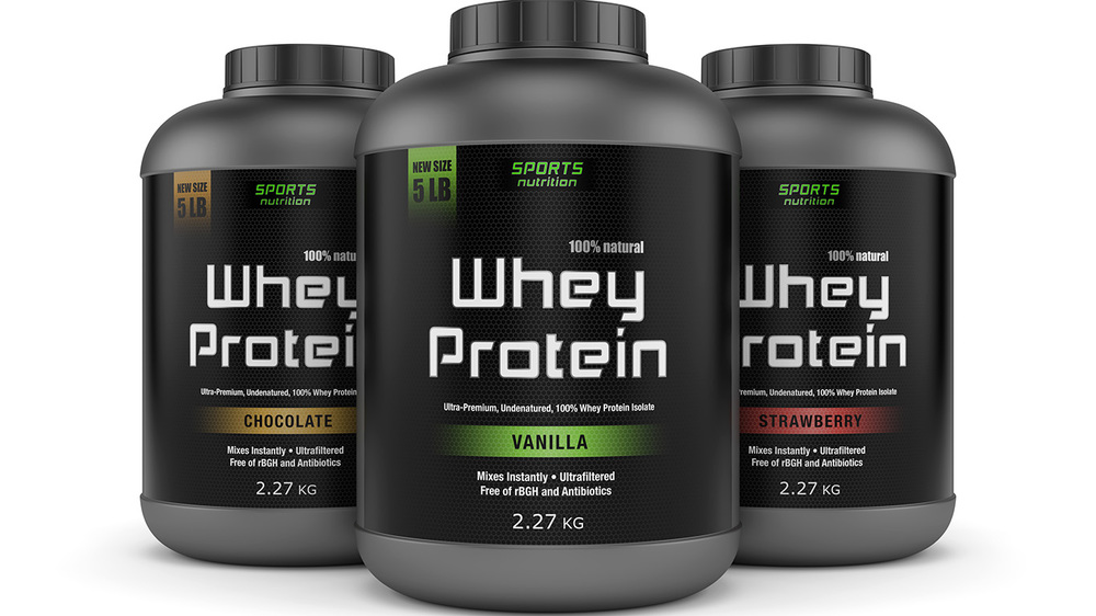 Whey Protein!