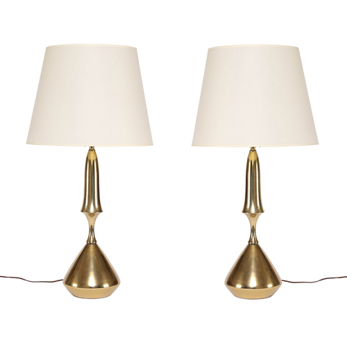 Vintage brass table lamps sedgwick brattle vintage brass table lamps aloadofball Gallery