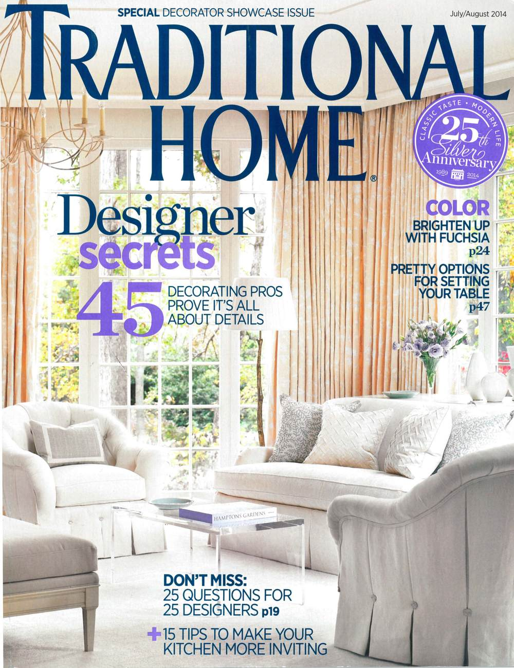 Traditional Home - July/August 2014