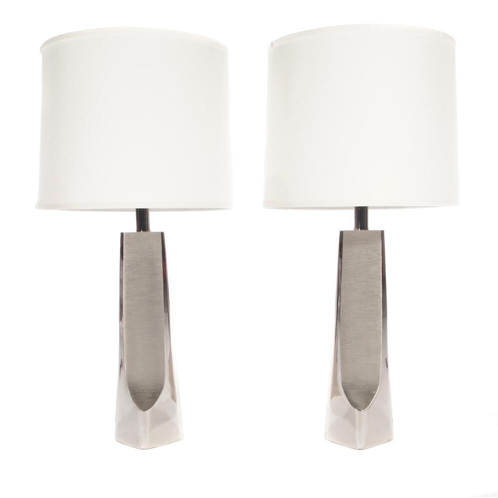 Laurel Chrome Table Lamp