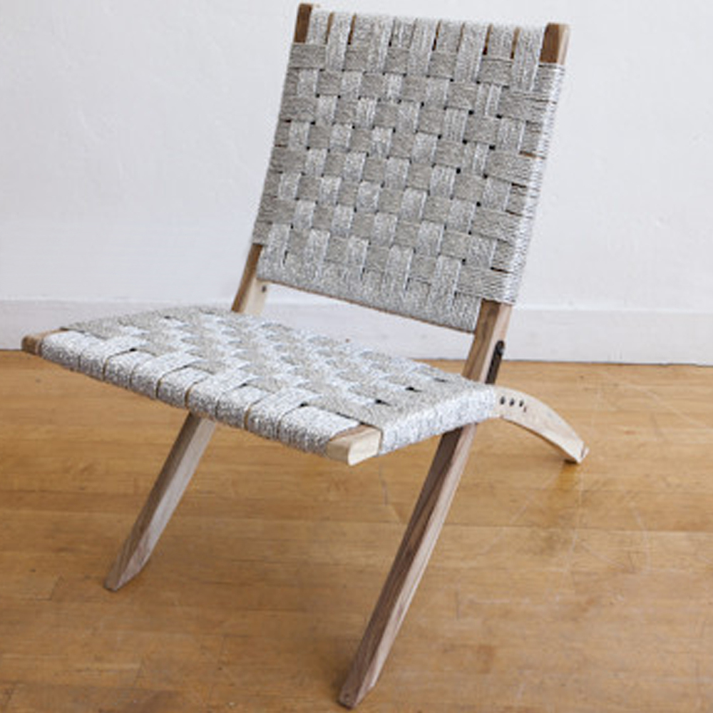 Silver Studio Folding Chair   OFF THE FLOOR