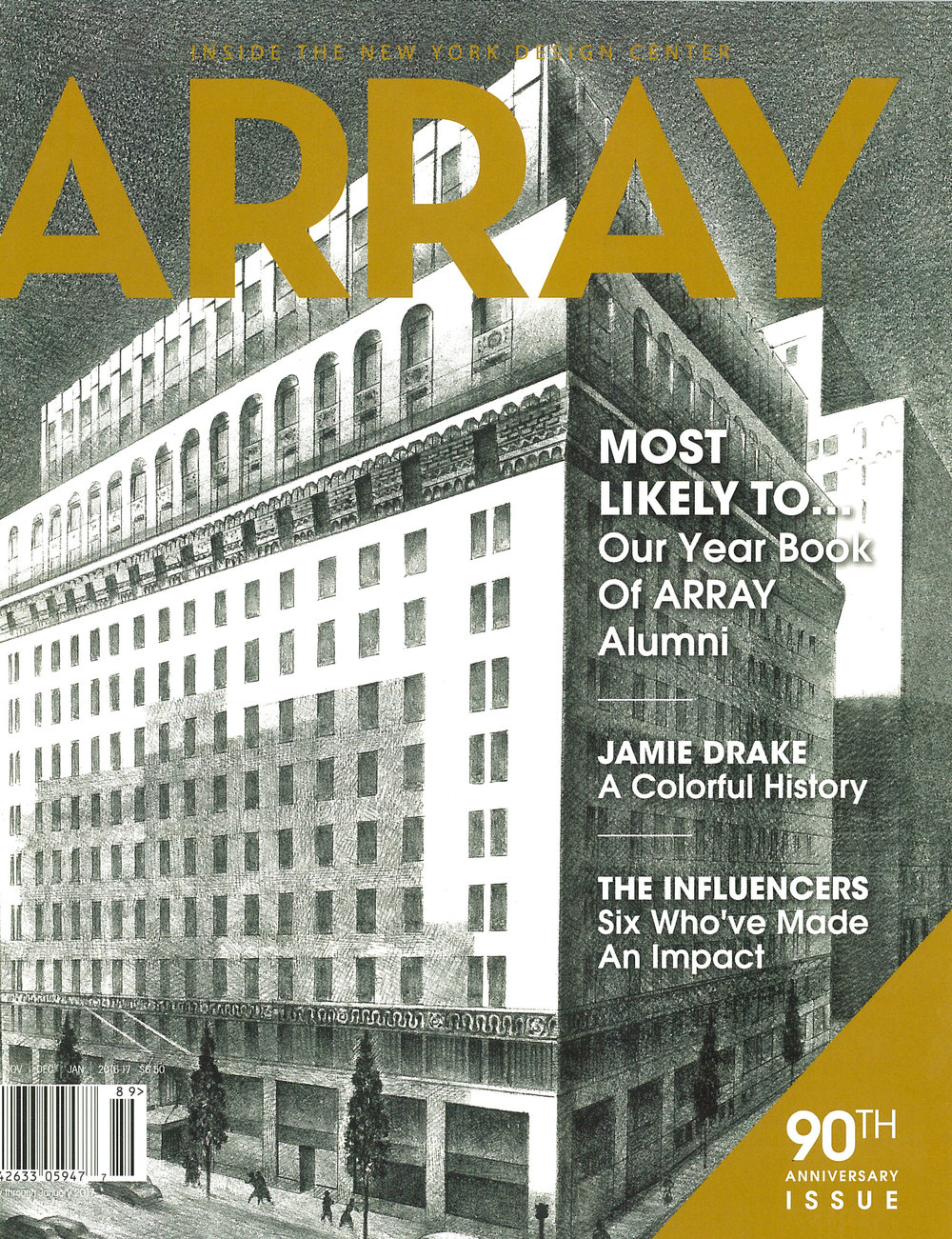 Array Magazine - Winter 2016