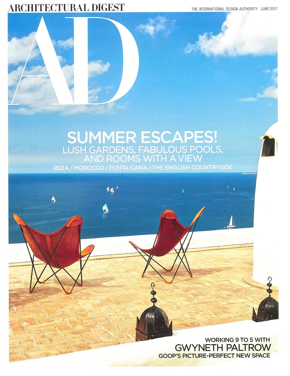 Architectural Digest -June 2017