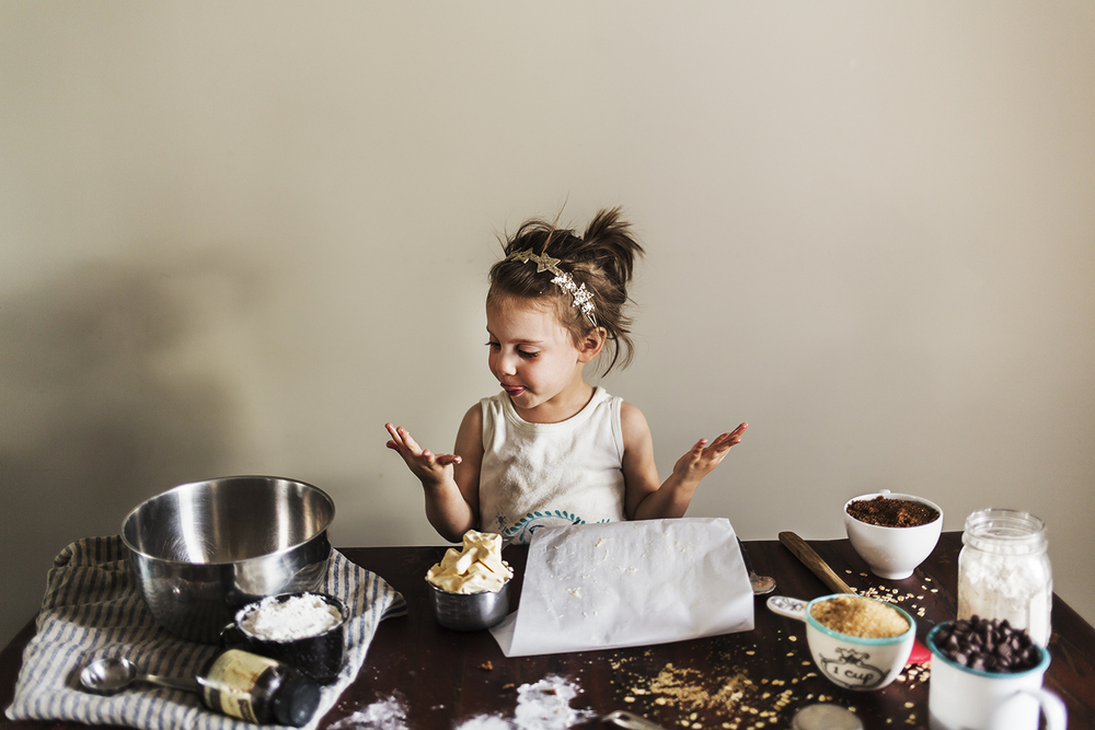 stella bakes portrait girl