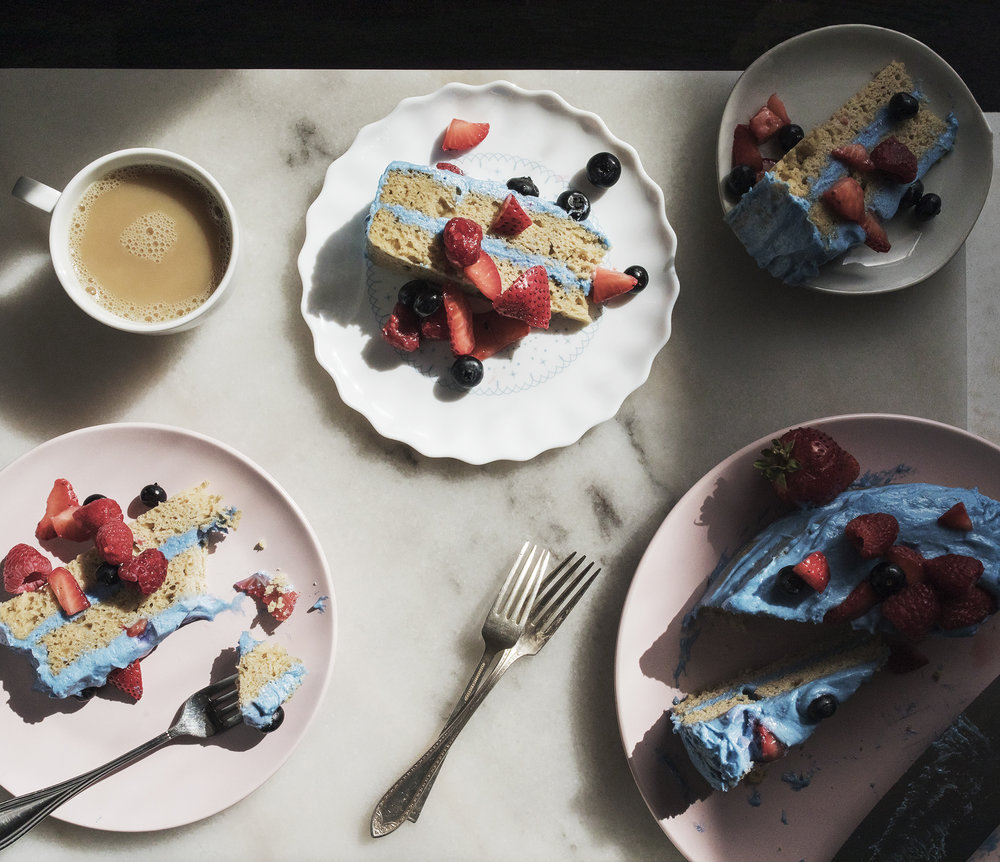 GLUTEN FREE VANILLA BEAN CAKE RECIPE -