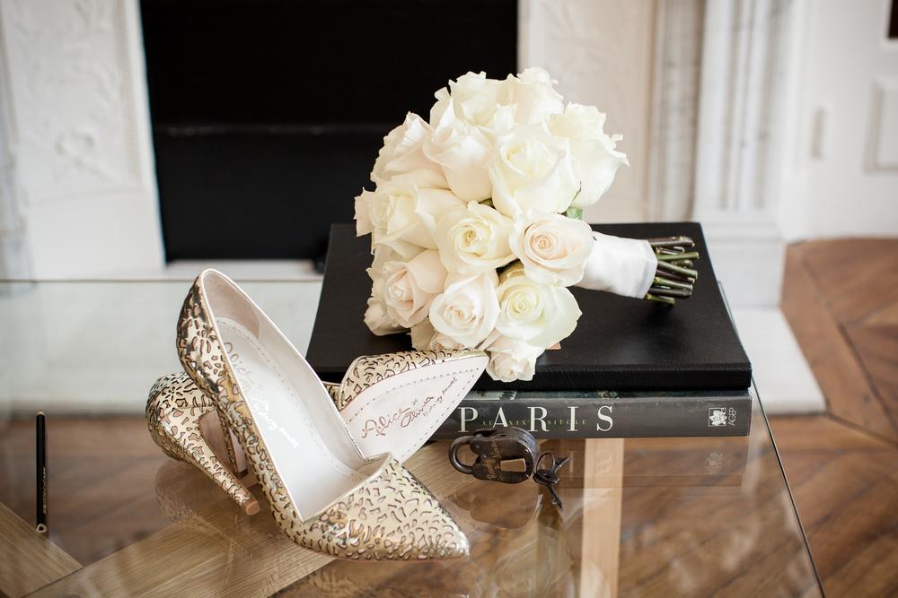chic wedding in paris, luxury paris