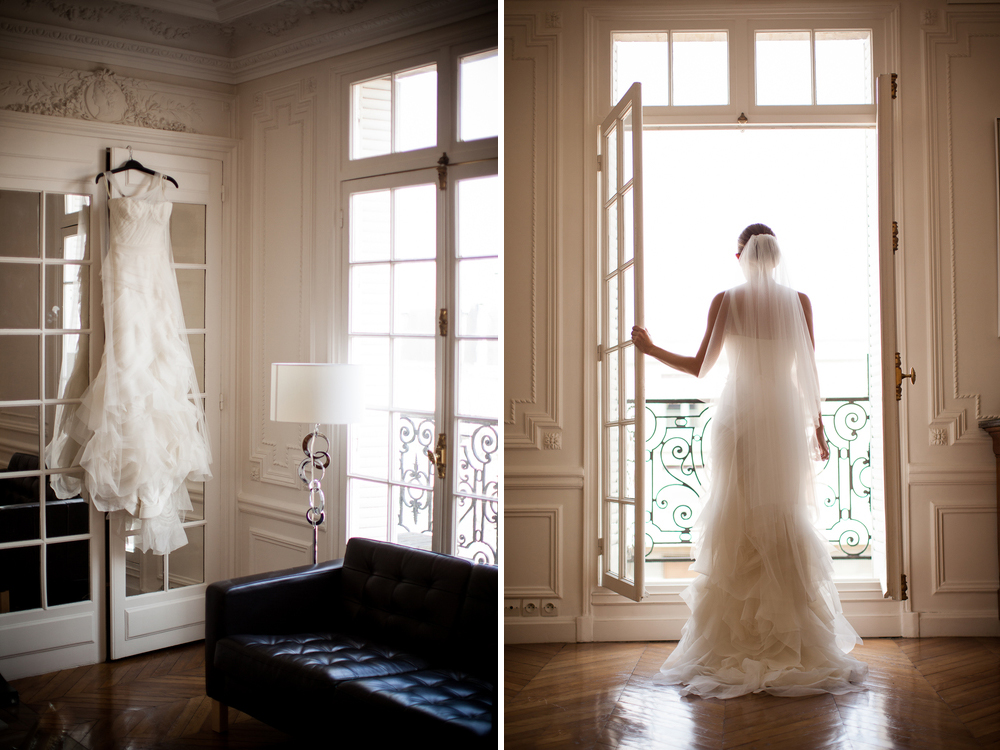elegant elopement paris