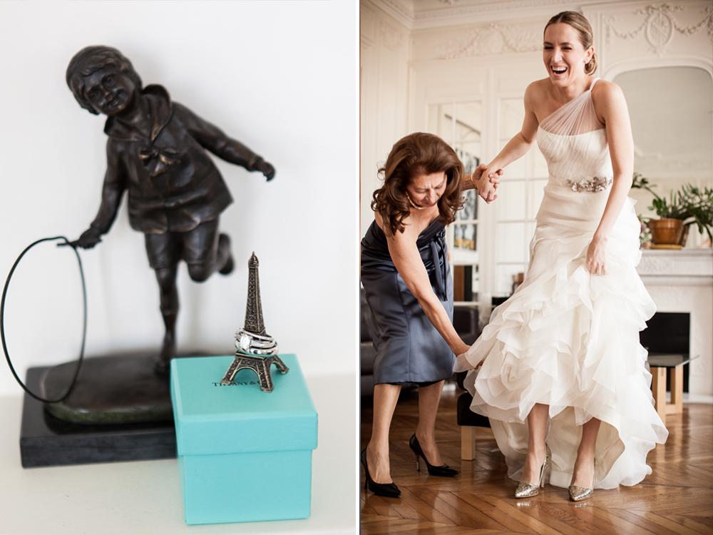 luxury wedding in paris