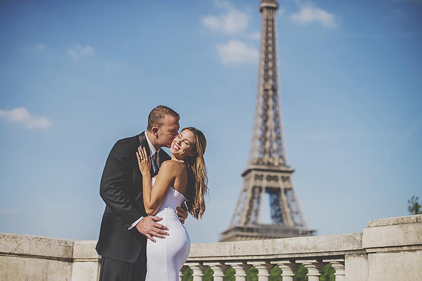 luxury wedding paris eiffel tower