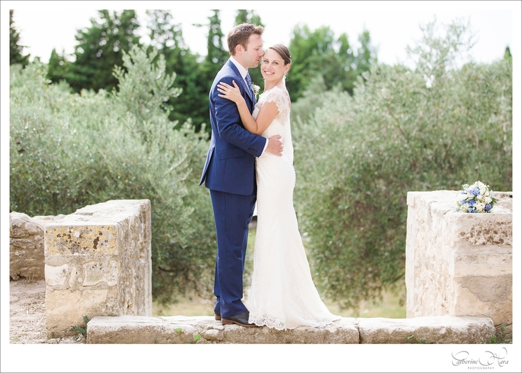 romantic rustic wedding provence