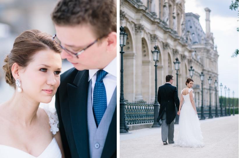 classy elopement wedding paris