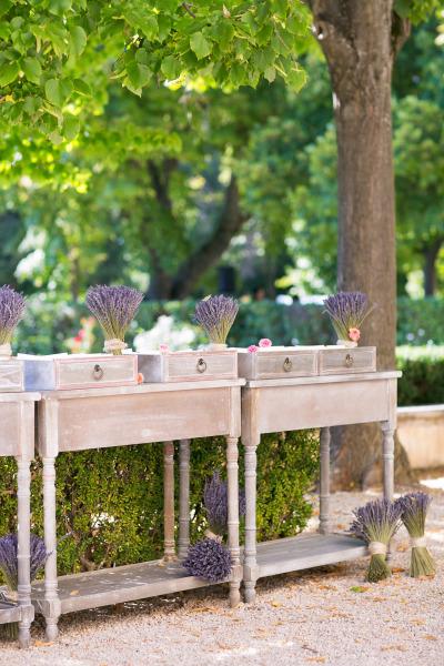 wedding decoration provence