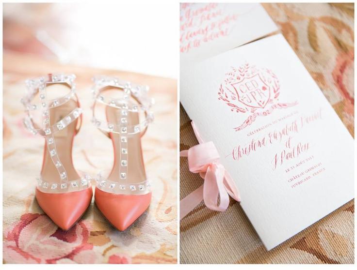 Wedding shoes provence