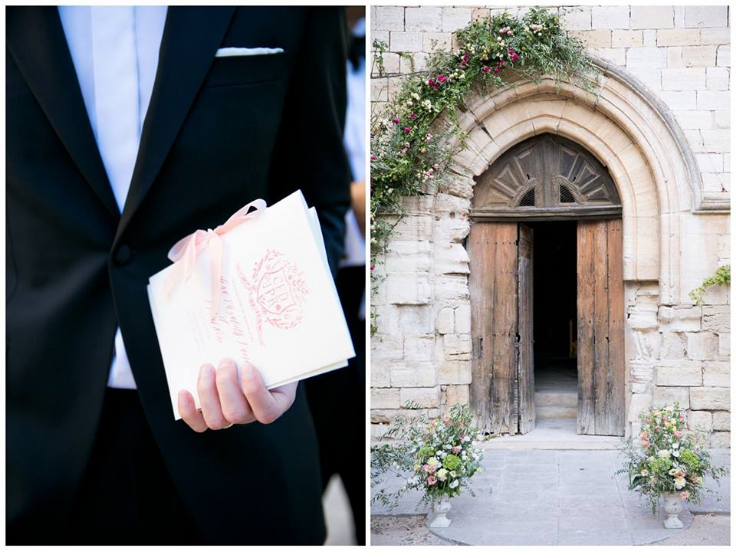 beautiful wedding in provence
