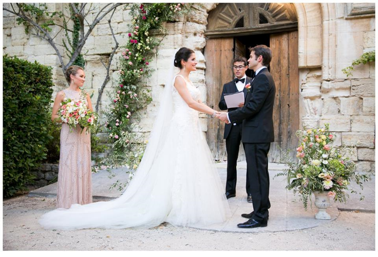 wedding reception provence