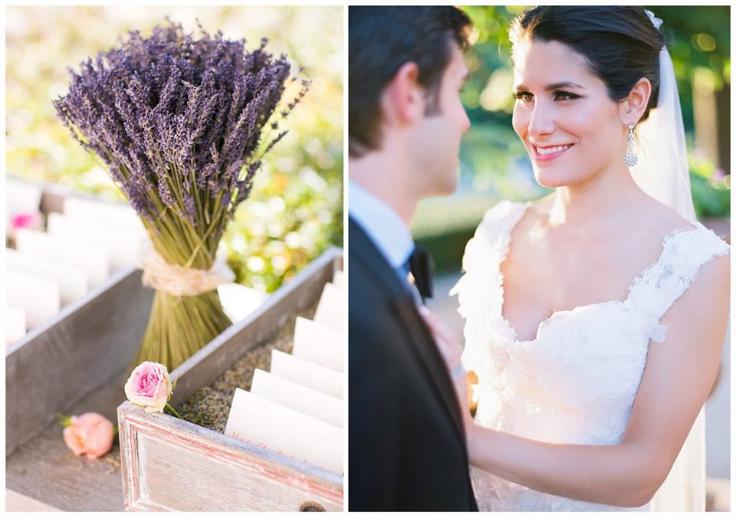 lavender wedding decoration