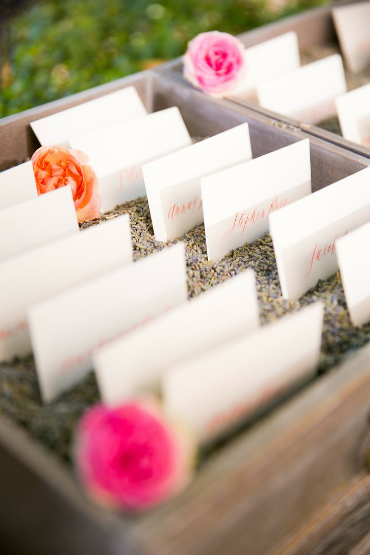 wedding decoration provence lavender
