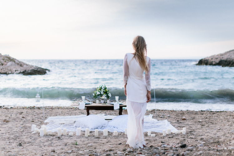 beach wedding cote d'azur