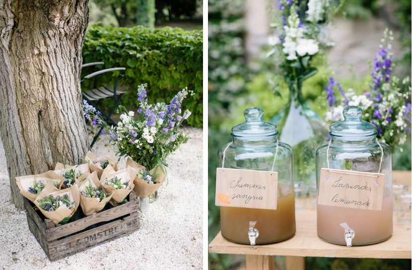 wedding provence decoration