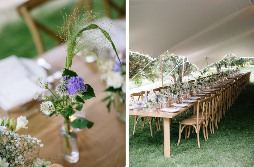 wedding rustic provencal decoration