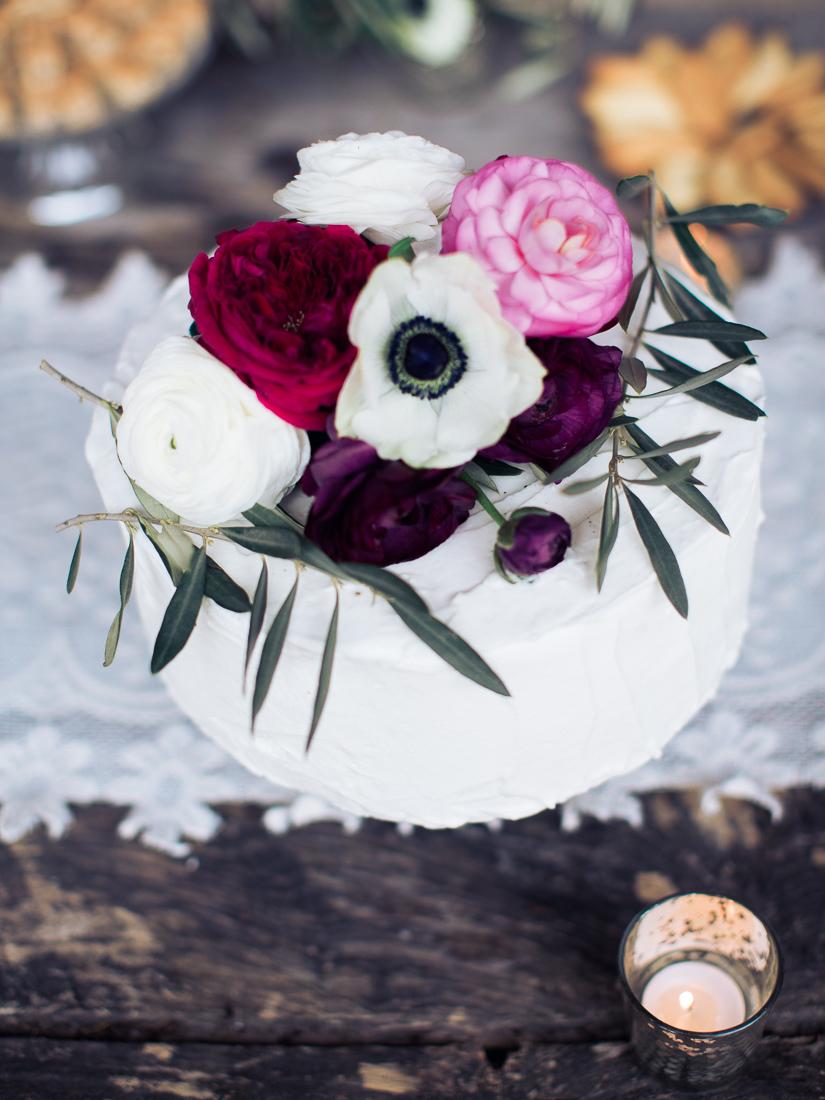 provencal wedding cake
