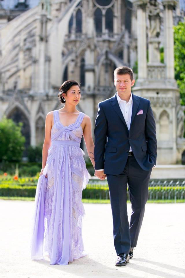 elopement package paris