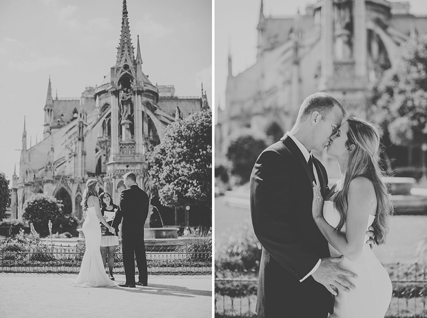 elopement in paris france