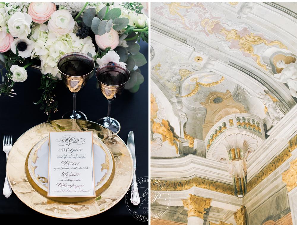 venetian table decoration