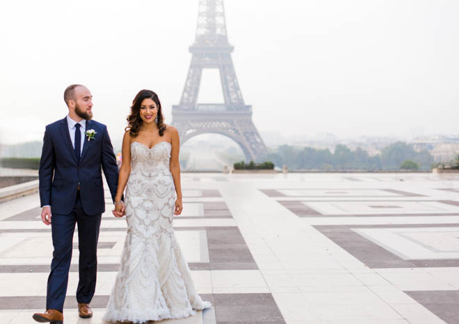 elopement package in paris