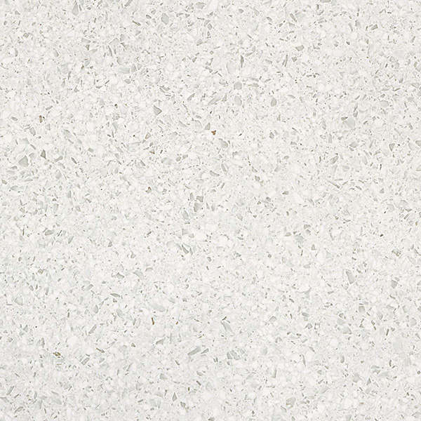"gems porcelain tile white natural and polished 23.5"" x 23.5"""