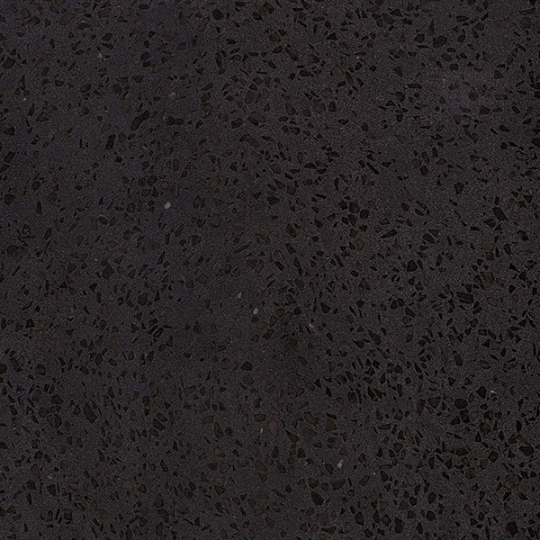 "gems porcelain tile black natural and polished 23.5"" x 23.5"""